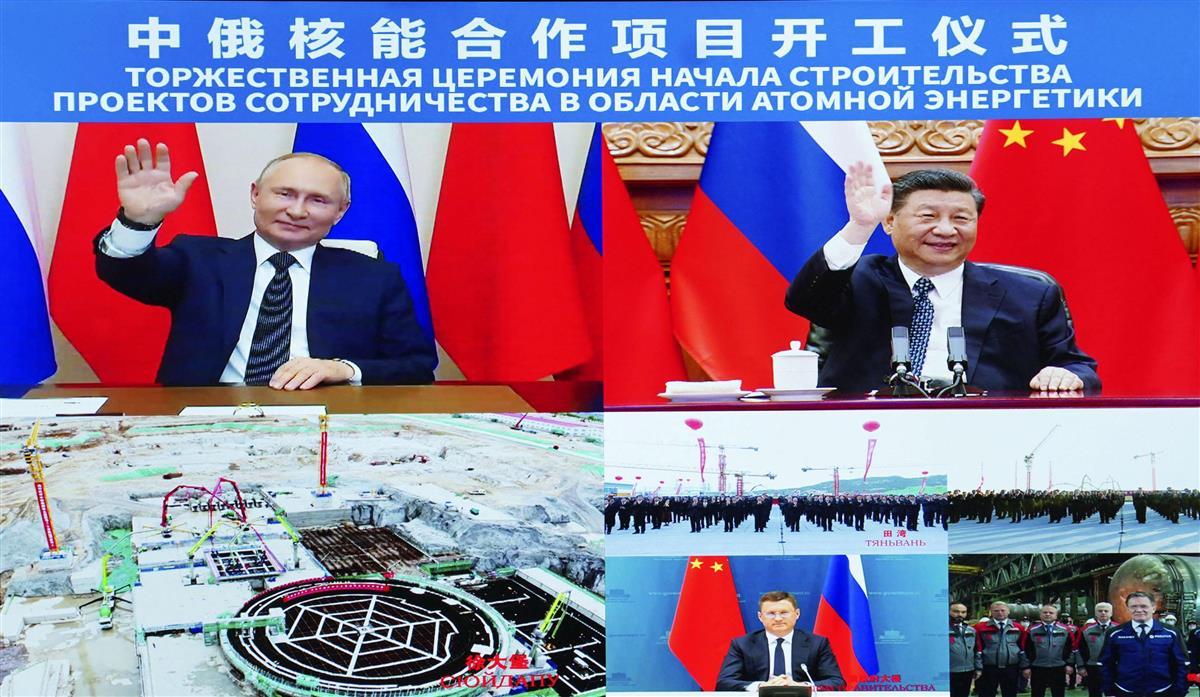 中国、露と原発連携誇示 建設に邁進、米との対立にらみ