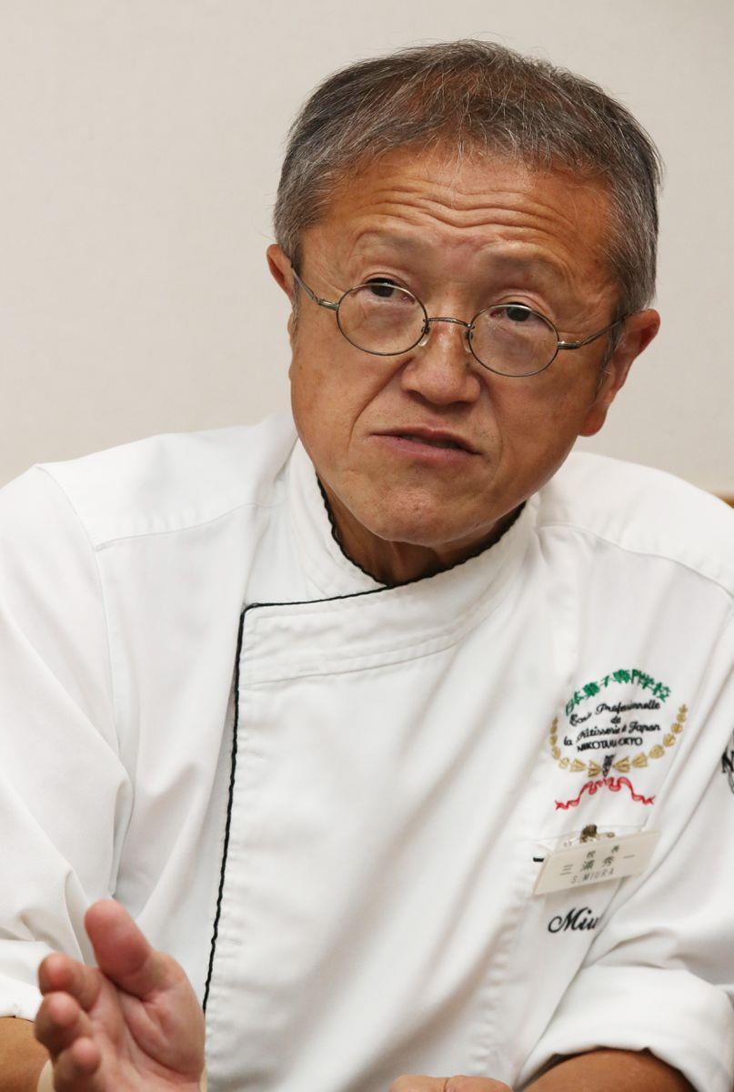 【学ナビ】羅針盤 日本菓子専門学校・三浦秀一校長 スイーツ甲子園、高見…