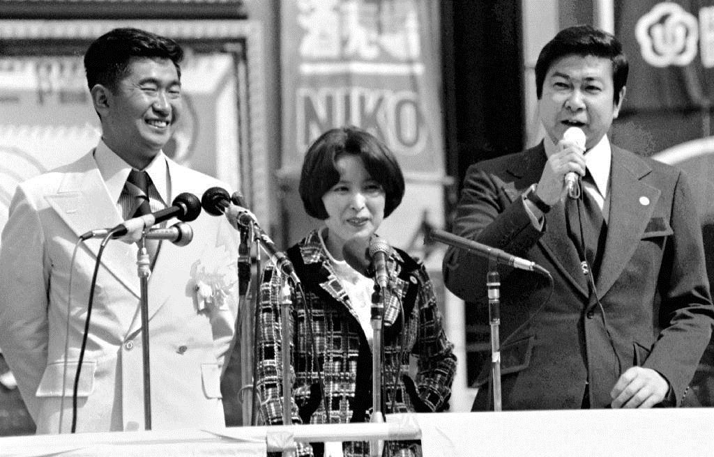産経フォト【今日は何の日】裕次郎が応援演説