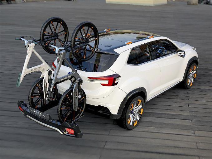 富士重工業の試作車「スバル ヴィジヴ フューチャー コンセプト」