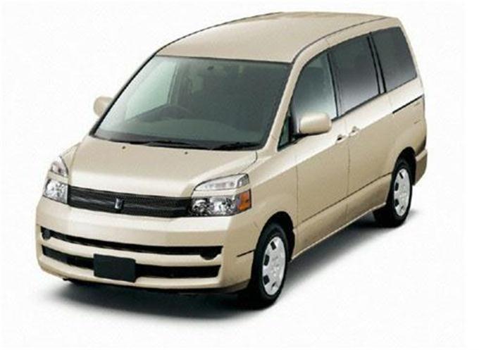 タカタ製エアバッグの欠陥問題でトヨタ自動車が再リコールした乗用車「ヴォクシー」