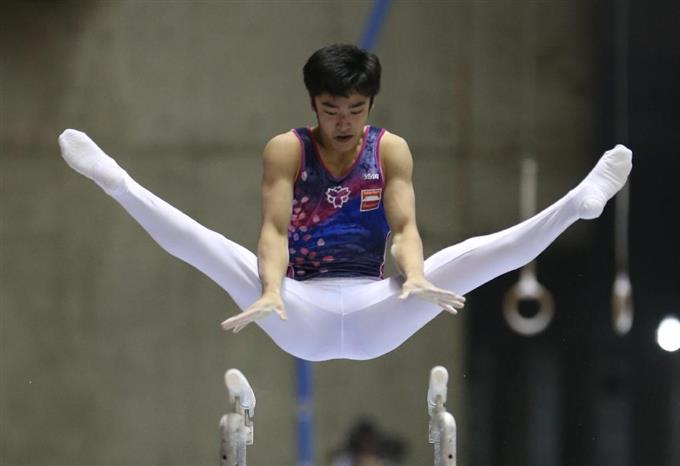 全日本体操団体、優勝は日本体育大学!
