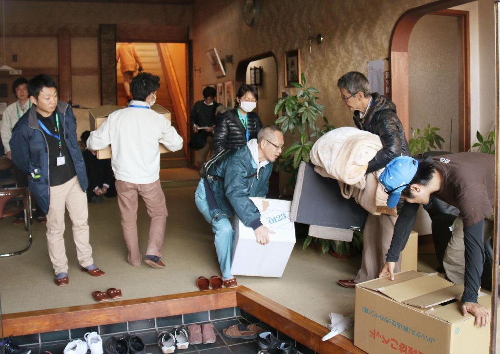 全避難所を閉鎖 85人が旅館・ホ...