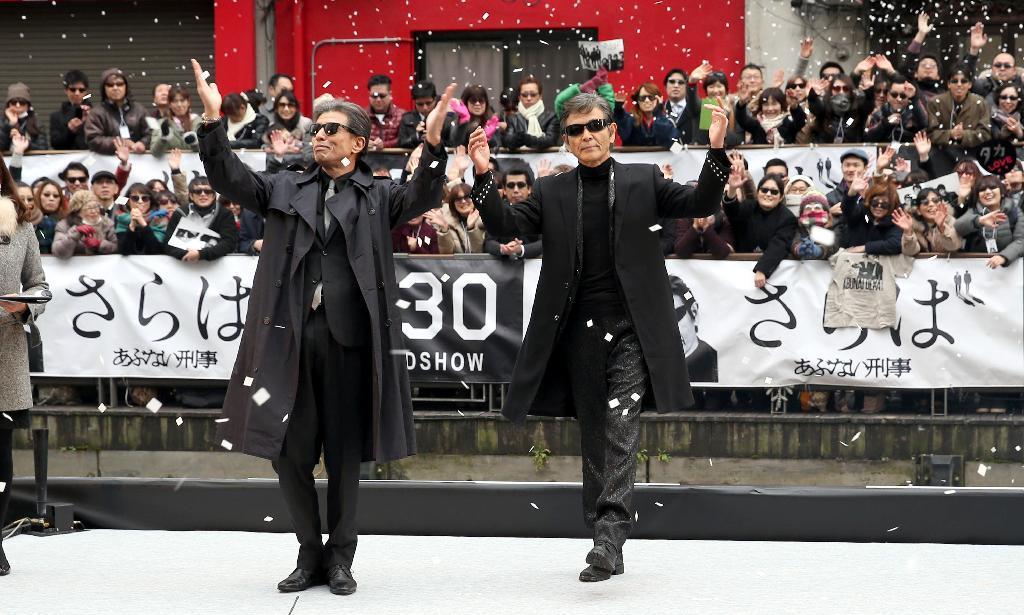 産経フォト「あぶない刑事」が道頓堀で〝緊急捜査〟??
