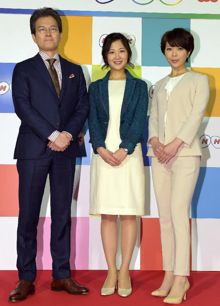 産経フォトNHK新キャスター発表 「クロ現+」「ニュースチェック11」