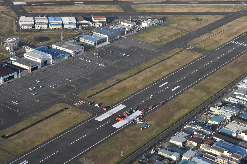 八尾空港で小型機墜落、4人死亡 着陸時にトラブルか - 読んで見 ...