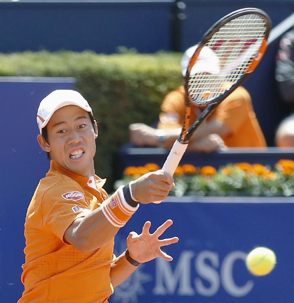 産経フォト for mobile錦織、3回戦進出 テニスのバルセロナOP