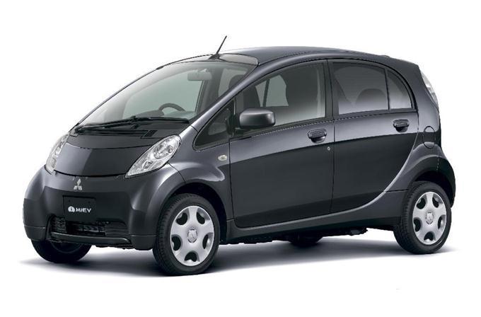 三菱自動車の電気自動車(EV)「アイ・ミーブ」