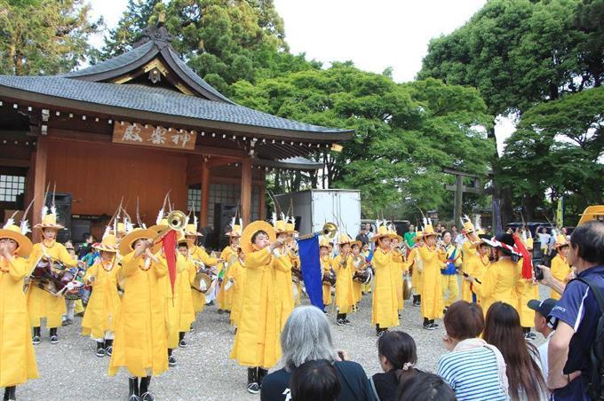 建郡1300年祝い友好祭 埼玉の高...
