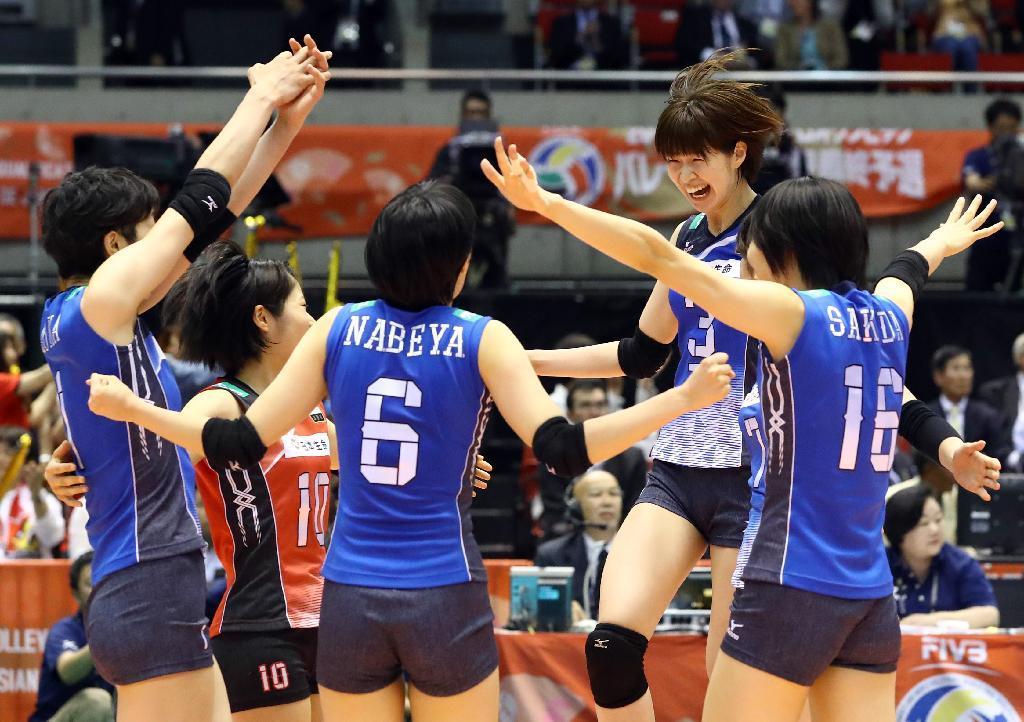日本女子バレー五輪最終予選はオランダを破り3