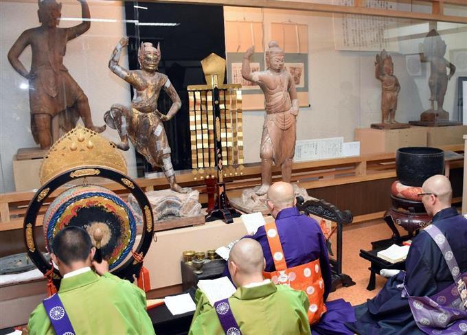 三仏寺投入堂本尊を修理に 京都に向け搬出 - 読んで見フォト - 産経フォト