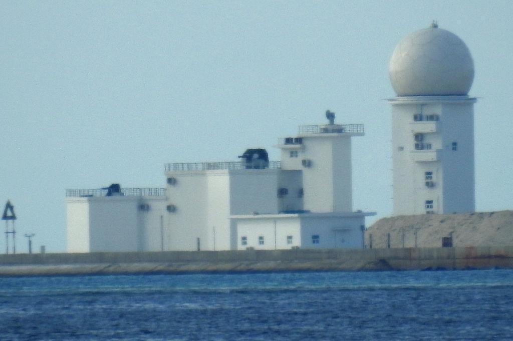 レーダー、通信塔も完成 南沙諸...