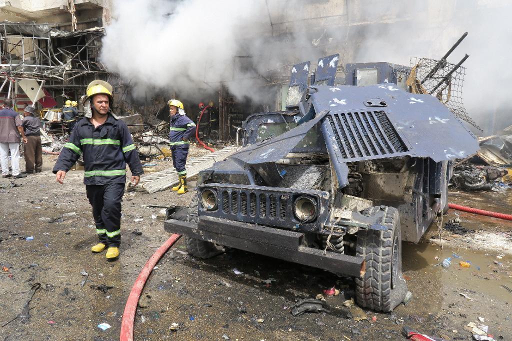 イラク連続テロで27人死亡 「イ...