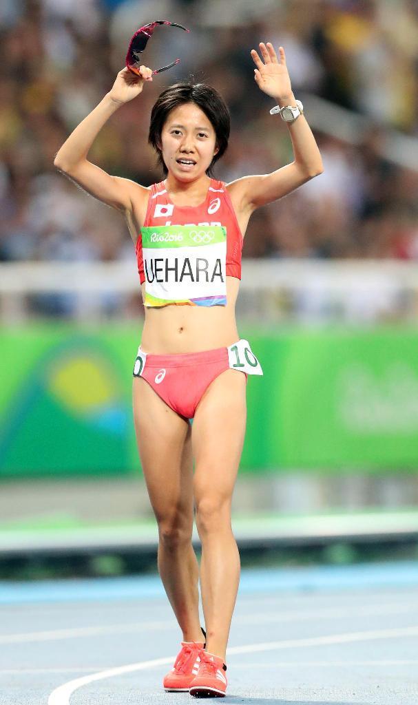 産経フォト【五輪陸上】女子5000メートル決勝 20歳の上原美幸は15位