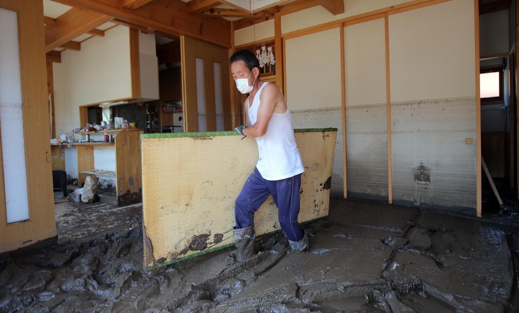 産経フォト岩泉町は「陸の孤島」状態 孤立者約900人