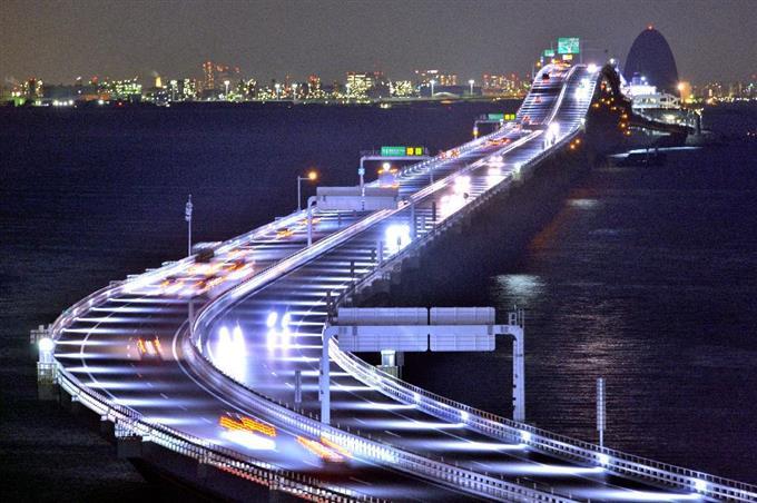 「東京湾アクアライン」の画像検索結果