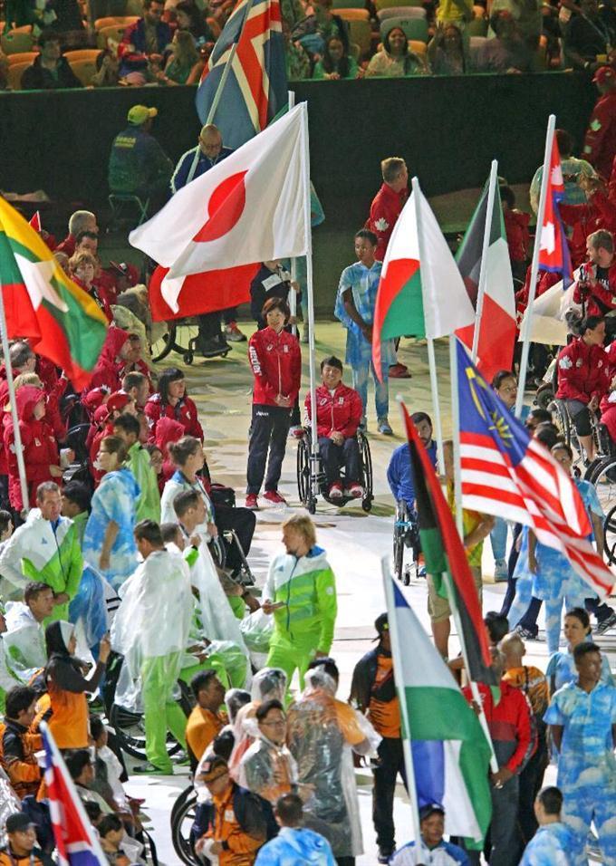 リオパラリンピックが閉幕 大会旗は2020東京へ - 読んで見フォト ...