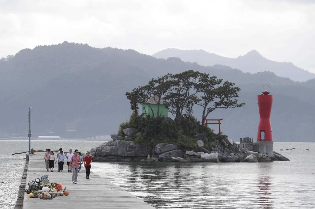 """産経フォト復興の象徴""""ひょうたん島"""" 岩手県大槌町「蓬莱島」"""