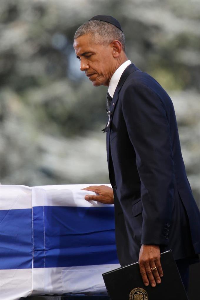 ペレス前大統領の死悼む 国葬に...