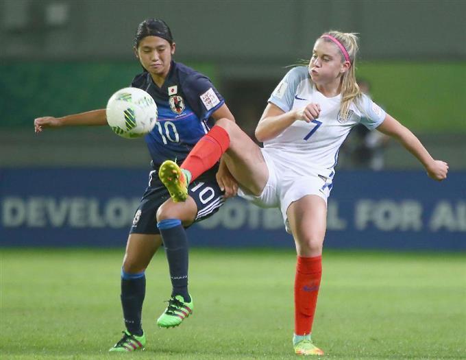 日本完勝で準決勝へ u17女子w杯サッカー 読んで見