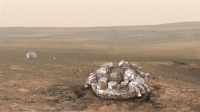 火星着陸機、通信途絶える 成否...