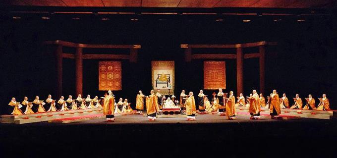 比叡山、高野山が競演 国立劇場...