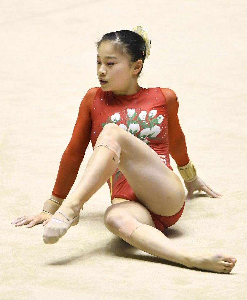 産経フォト日体大V3、村上が活躍 体操の全日本団体女子