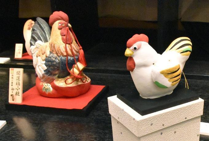 熊本で「酉年」の工芸展 - サッと見ニュース - 産経フォト