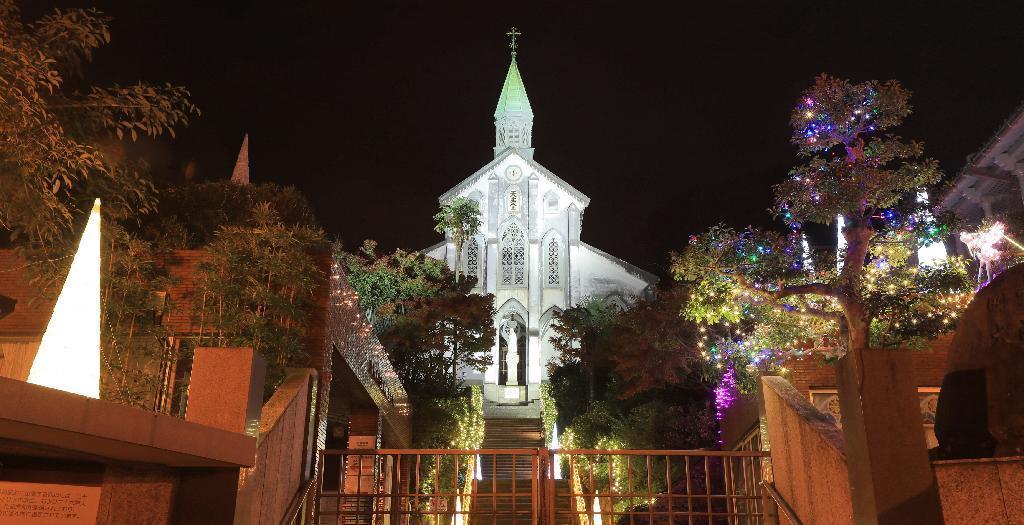 産経フォト清らかな光 聖堂を包んで 長崎夜景と教会群