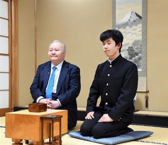 藤井聡太と加藤一二三