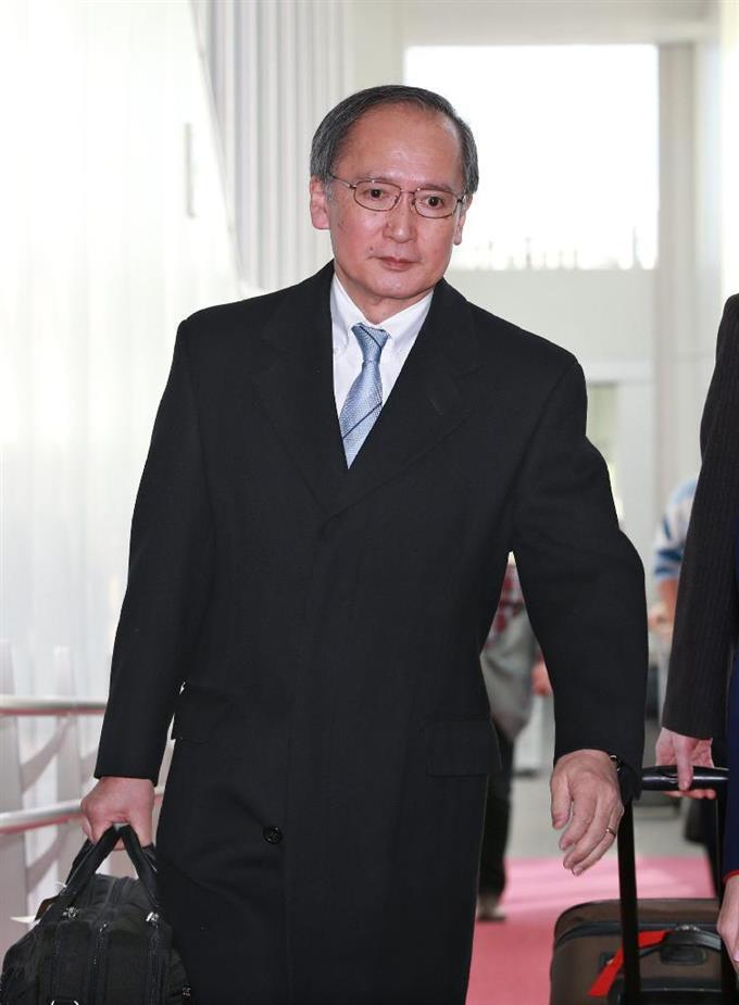 駐韓大使らが一時帰国 - フォト...