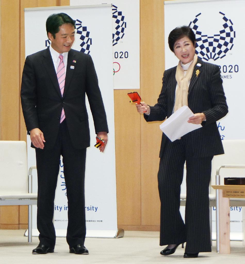 五輪でよさこい踊りを」高知県知事小池氏に要望 - サッと見ニュース ...