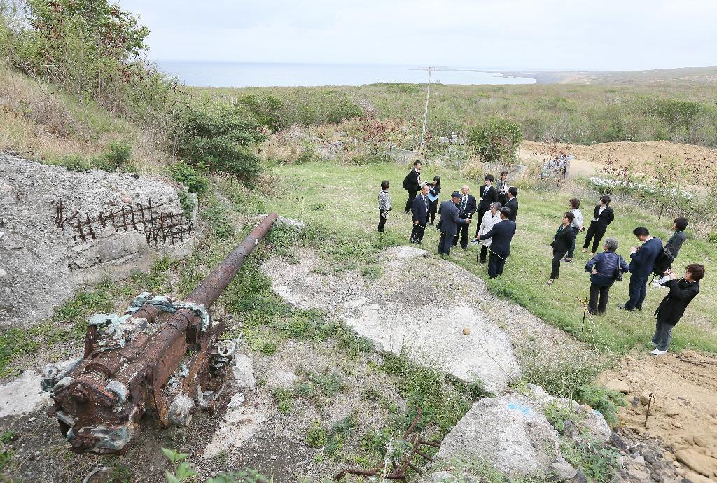 産経フォト日米、硫黄島で合同慰霊 戦争の記憶、風化阻止