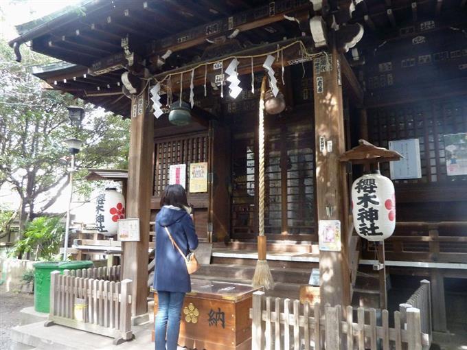 桜木神社=東京都文京区