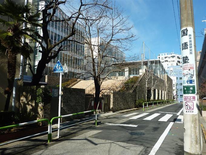桜蔭学園の校舎=東京都文京区