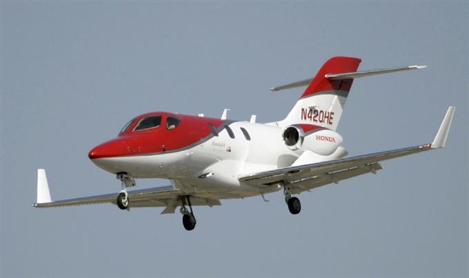 ホンダの小型ビジネスジェット機「ホンダジェット」