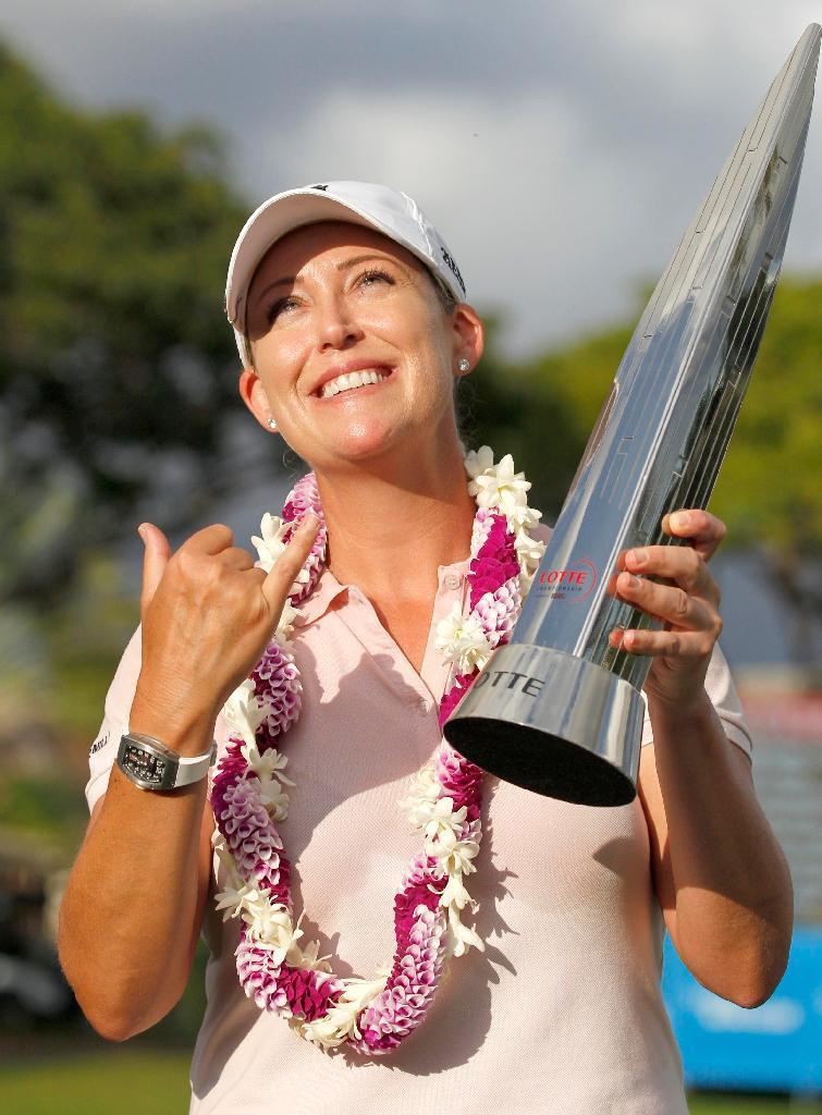 産経フォト米女子ゴルフ最終日 カーが逆転で19勝目