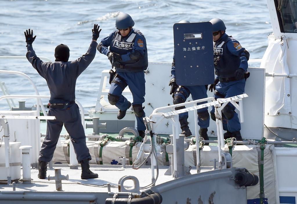 海上保安庁が5年ぶりに総合訓練 ...