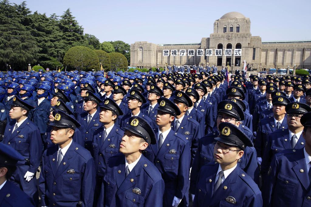 警視庁機動隊が観閲式 「安全な東京の実現を」 - 読んで見 ...