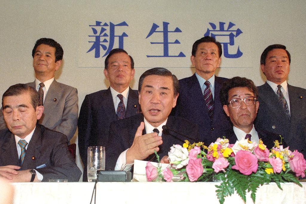 羽田孜元首相が死去 82歳、老衰...