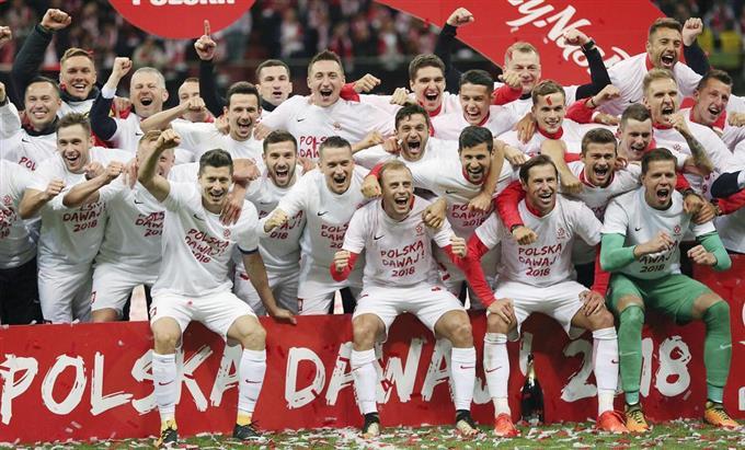 ポーランド、出場決定 W杯欧州予...