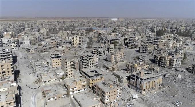 ラッカ奪還、正式宣言 「イスラム国」壊滅状態 - サッと見ニュース ...