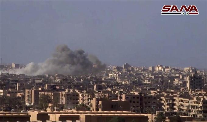 シリア東部の要衝奪還 イスラム...