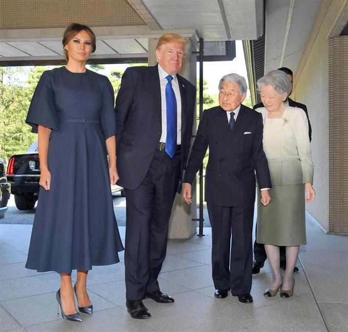 天皇、皇后両陛下、米大統領夫妻...