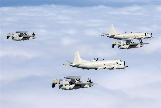 台湾に米製P3C就役 対潜水艦能力...