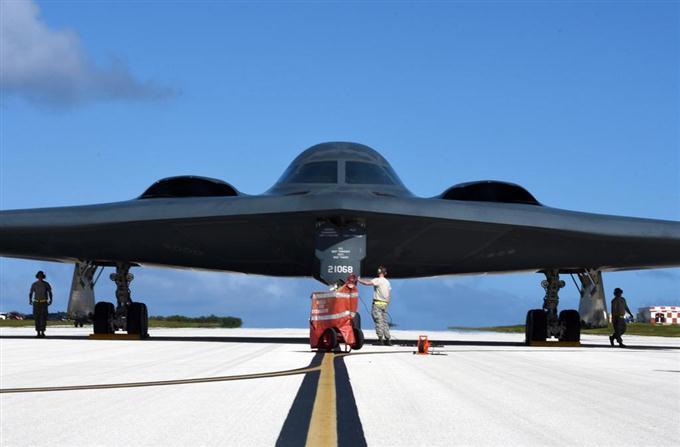 産経フォトB2爆撃機3機、グアムに配備 米太平洋空軍サイトナビゲーションB2爆撃機3機、グアムに配備 米太平洋空軍PRPRスゴい!もっと見る瞬間ランキングもっと見るPRPRRICOH THETAが記憶する景色PRPR産経スペシャル今週のトピックス話題のランキング