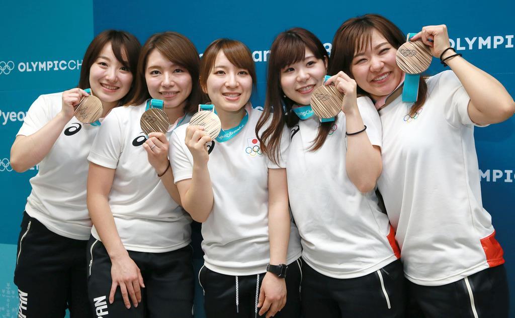 笑顔と涙の銅メダル カーリングの日本代表「LS北見」 - 読んで見 ...
