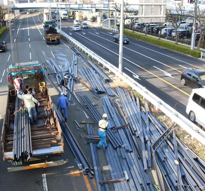 「神戸 トレーラー 鋼材」の画像検索結果