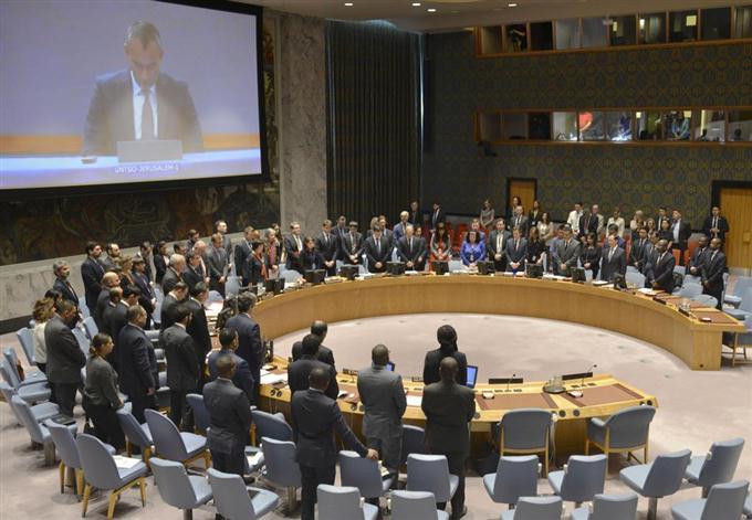 国連安保理が緊急会合 パレスチ...
