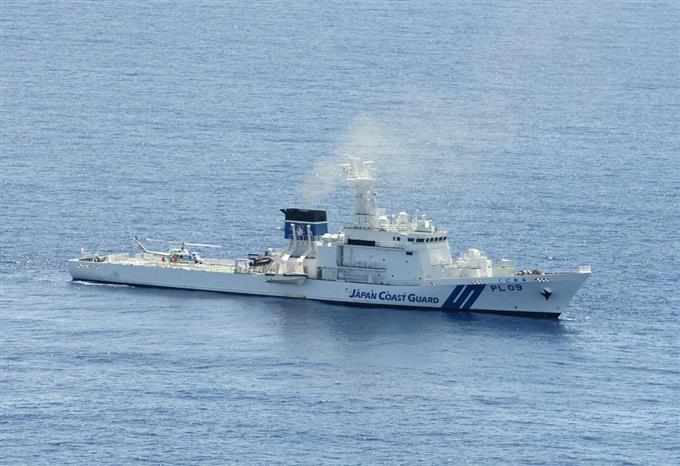 原発テロ対策に大型巡視船 日本...